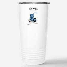Cute Skydiving Thermos Mug