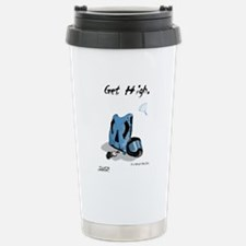 Funny Parachuting Travel Mug