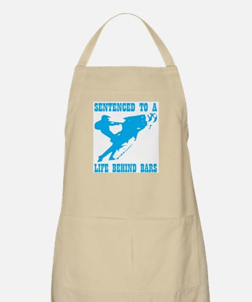 Sentenced To A Life Behind Bars Apron