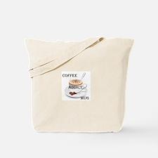 Coffee addict mug Tote Bag