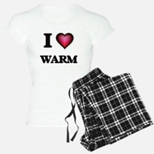 I love Warm Pajamas