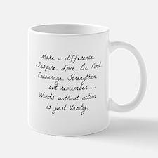 Make a difference Mugs