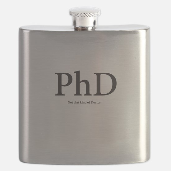 PhD Not that kind of Doctor Flask