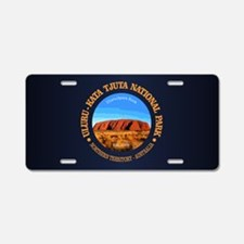 Uluru Aluminum License Plate