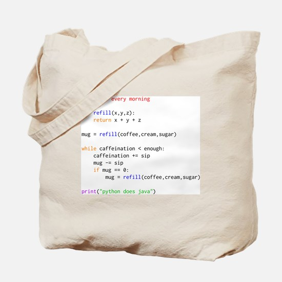 Cute Geek Tote Bag