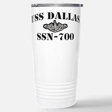 Unique Dallas Travel Mug