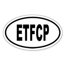 ETFCP Oval Decal