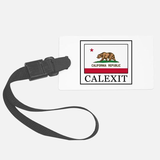 Calexit Luggage Tag