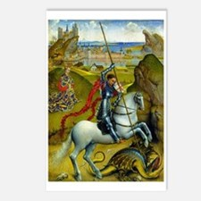 Saint George and The Dragon Postcards (Package of