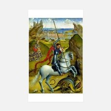 Saint George and The Dragon Decal