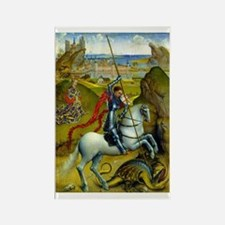 Saint George and The Dragon Magnets