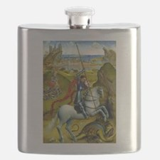 Saint George and The Dragon Flask
