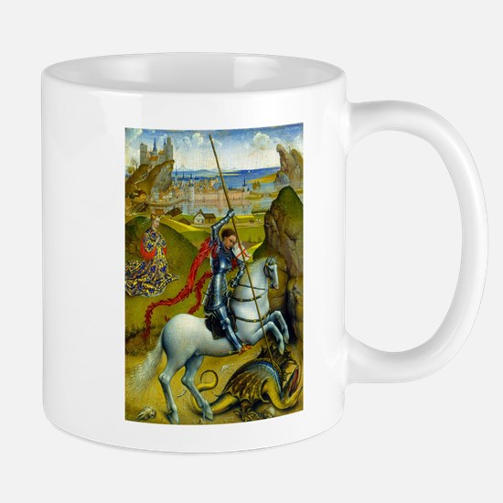 Saint George and The Dragon Mugs