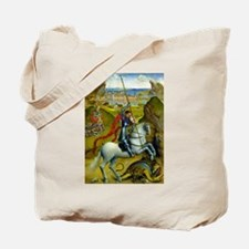 Saint George and The Dragon Tote Bag