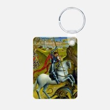 Saint George and The Dragon Keychains