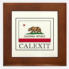 Calexit Framed Tile
