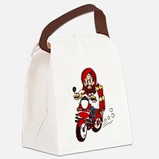 Punjabi Sikh Indian Santa Claus O Canvas Lunch Bag