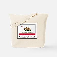 Unique California flag bakersfield Tote Bag