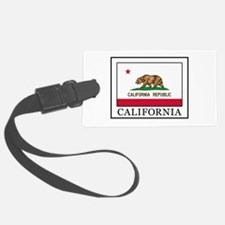 California Luggage Tag