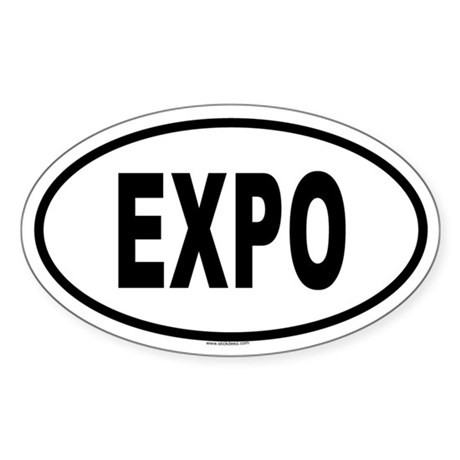 EXPO Oval Sticker