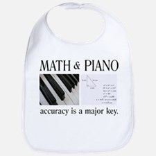 Math and Piano _ Major Key Bib