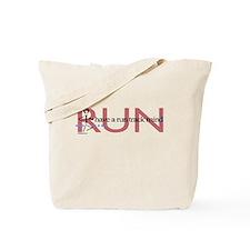 Run track mind runner Tote Bag