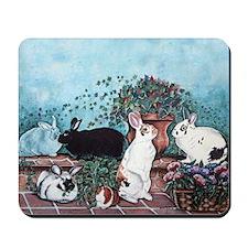 Rabbit Social Mousepad
