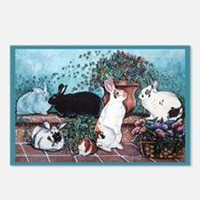 Rabbit Social Postcards (Package of 8)