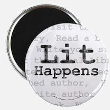 100 Lit Happens magnets