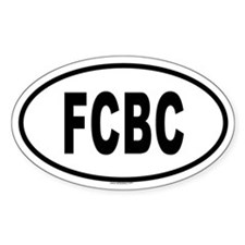 FCBC Oval Decal