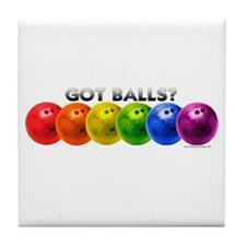 Got Balls? Tile Coaster