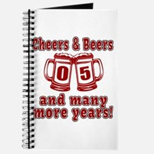 Cheers And Beers 05 And Many More Years Journal