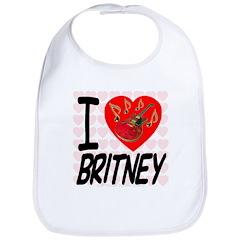 I Love Britney Bib