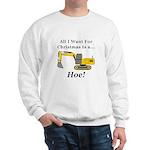 Christmas Hoe Sweatshirt