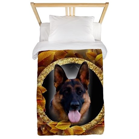 Awesome German Shepherd Twin Duvet Cover