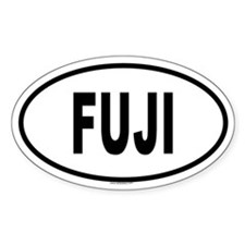 FUJI Oval Decal
