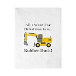Christmas Rubber Duck Twin Duvet