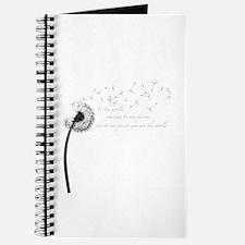 Dandelion Inspiration Journal
