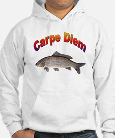 Carpe Diem Seize the Day (Front) Hoodie
