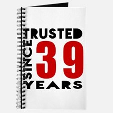 Trusted Since 39 Years Journal
