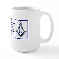Masons' Creed Large Mug