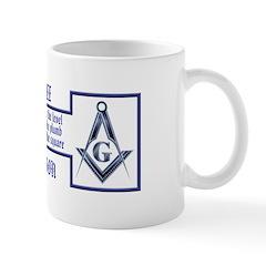 Masons' Creed Mug