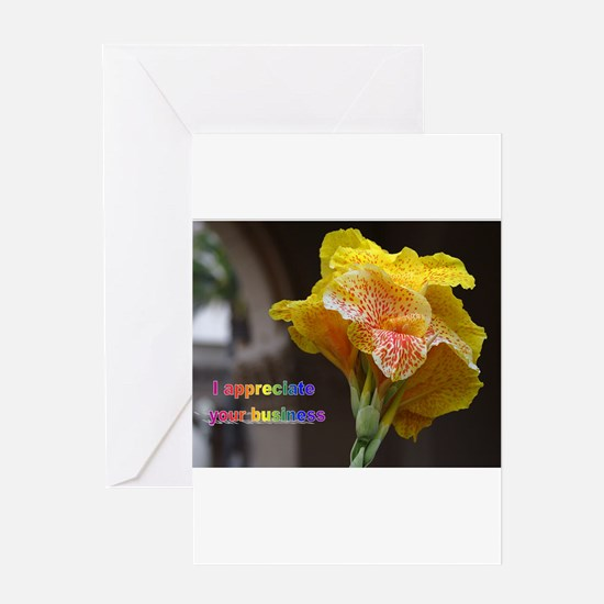 Greeting Card - APPRECIATE YOUR BUSINESS