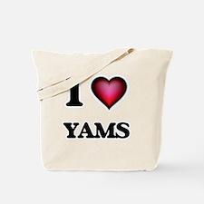 I love Yams Tote Bag