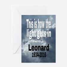 Unique Leonard Greeting Card