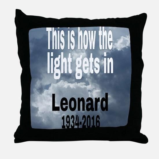 Cool Religious Throw Pillow