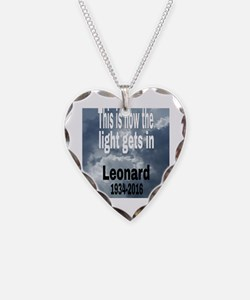 Cool Meditate Necklace Heart Charm