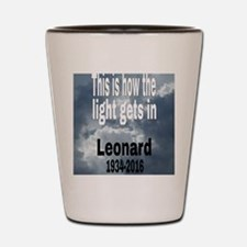 Funny Leonard Shot Glass