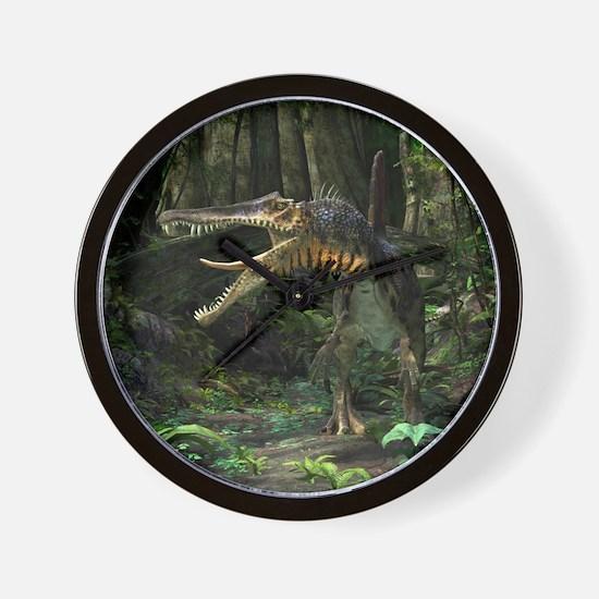 Dinosaur Spinosaurus Wall Clock