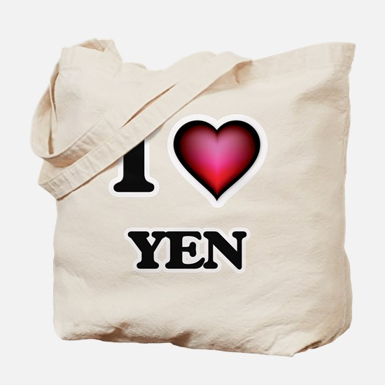 I love Yen Tote Bag